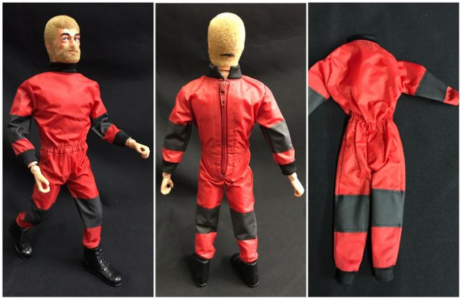 LoucoPorBonecos - JOELANTA EXCLUSIVE Geyperman Style Jumpsuit for Action Man, Gi Joe Etc